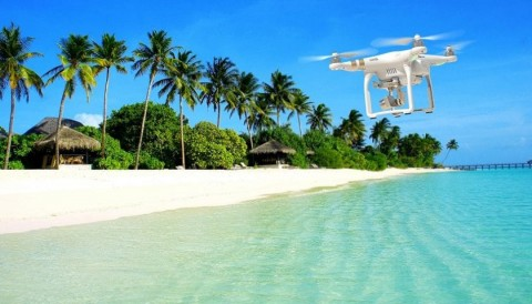 Drone in vacanza